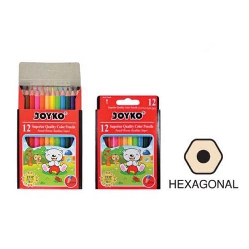 Pensil Warna 12 Joyko Kecil CP-S12