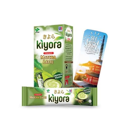 ITO EN Kiyora Matcha Latte Instant 21 gr (Free Bookmark)