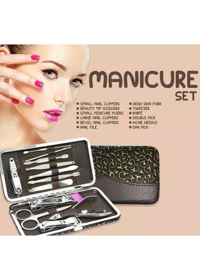 Alat Pemotong Kuku - Manicure Set 12 in 1