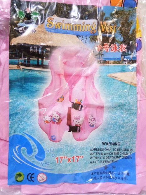 Swimming Vest Hello Kitty