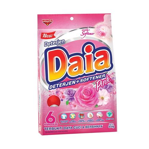 Daia Softener Pink Powder Detergent 850gr