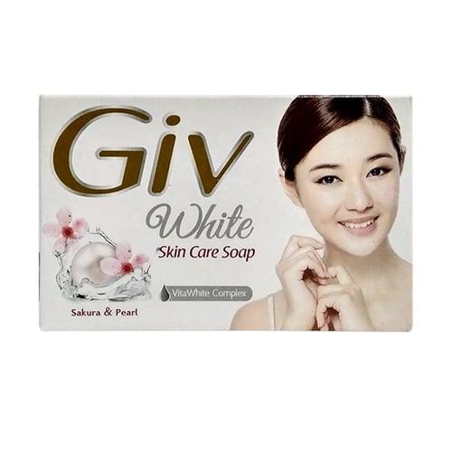 Giv Pearl Kotak Bar Soap 76 Gr