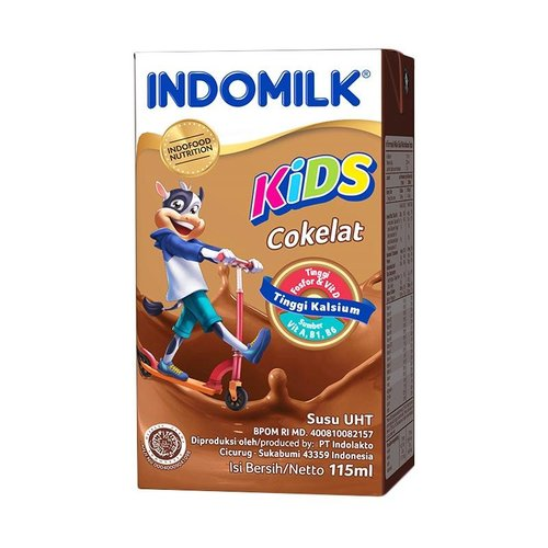 Indomilk Cokelat Susu UHT 115 mL