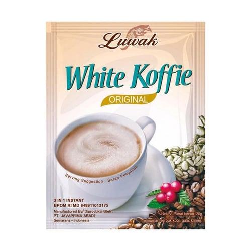 Luwak White Coffee Rasa Original Kopi Instant 20 g