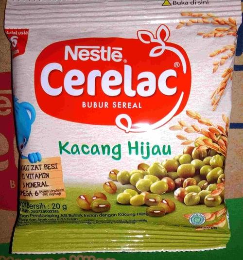 Cerelac Kacang Hijau