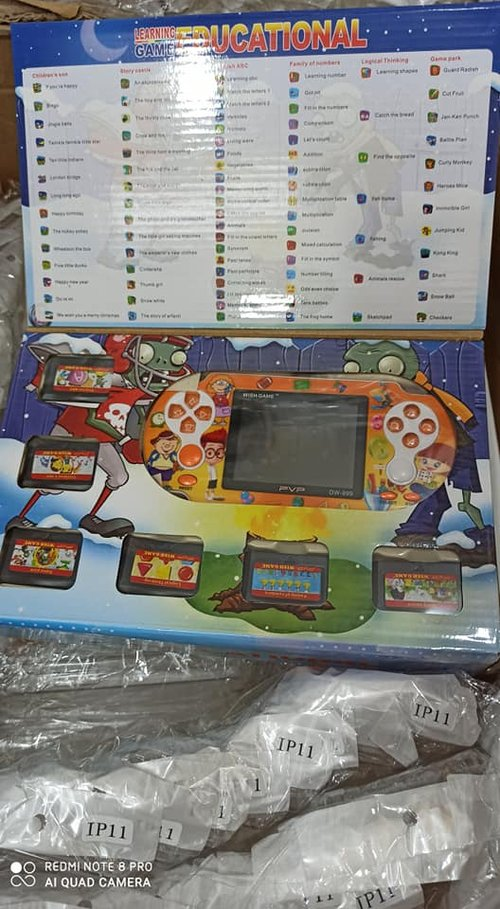 Console Mainan Anak Nintendo / Nitendo GameBoy / Konsol Game Boy PVP model PSP
