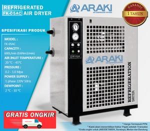 Refrigerant Air Dryer Araki FK-05AC - FREE 3 MICRO FILTER
