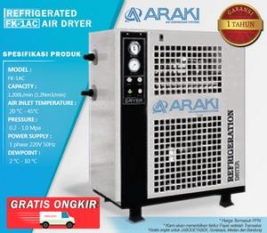 Refrigerant Air Dryer Araki FK-1AC - FREE 3 MICRO FILTER