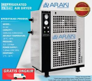 Refrigerant Air Dryer Araki FK-3AC