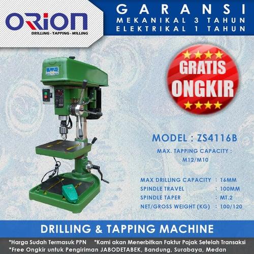Mesin Bor Duduk Orion Drilling & Tapping Machine ZS4116B