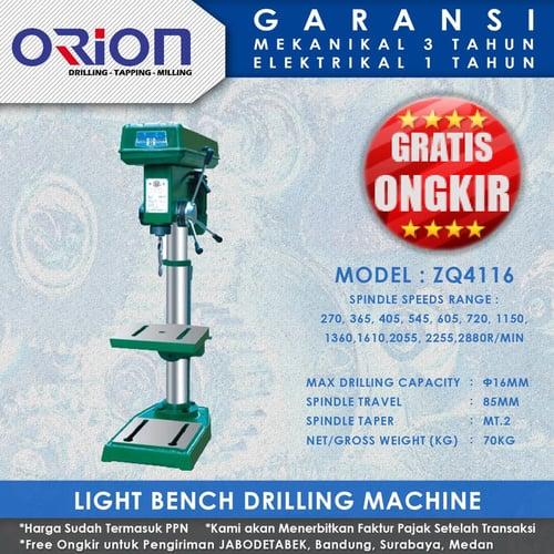 Mesin Bor Duduk Orion Light Bench Drilling Machine ZQ4116