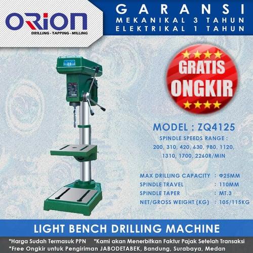 Mesin Bor Duduk Orion Light Bench Drilling Machine ZQ4125
