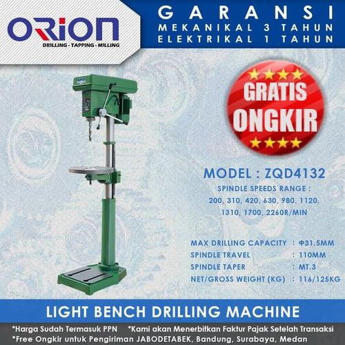 Mesin Bor Duduk Orion Light Bench Drilling Machine ZQD4132