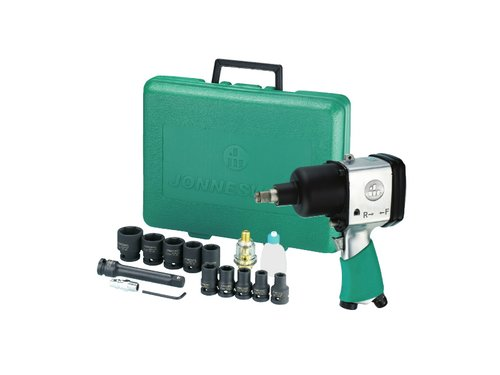 17PCS 1/2 AIR IMPACT WRENCH KIT