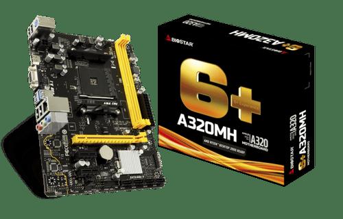 Biostar A320MH (AM4, AMD Promontory A320, DDR4, USB 3.1, SATA3)