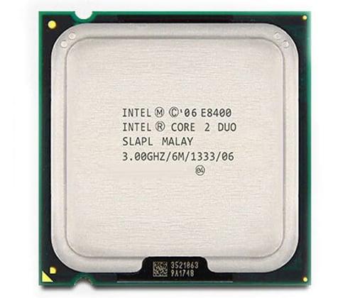Intel Core 2 Duo E8400 3.0Ghz FSB 1333 Mhz Cache 6MB Tray Socket LGA