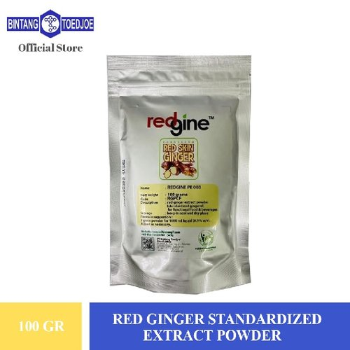 Jahe Merah - Red Ginger Standardized Extract Powder 100 Gr