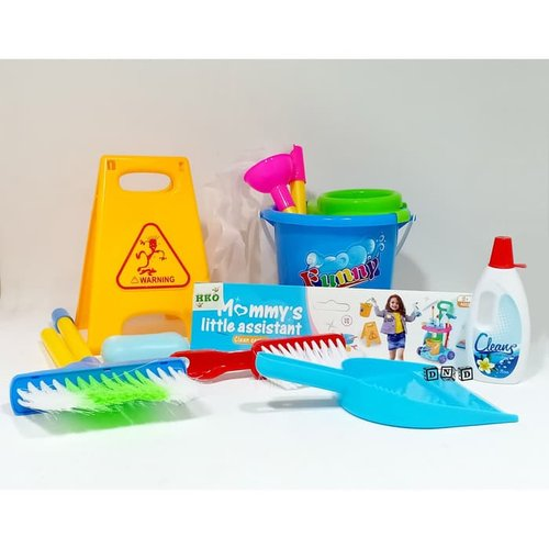 Mommy Little Assistance Helper Cleaning Series - kids Toys