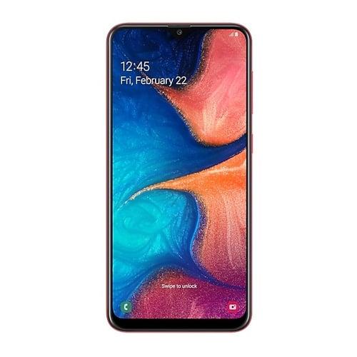 Samsung Galaxy A20 SM-A205 RAM 3GB - 32GB Red Garansi Resmi