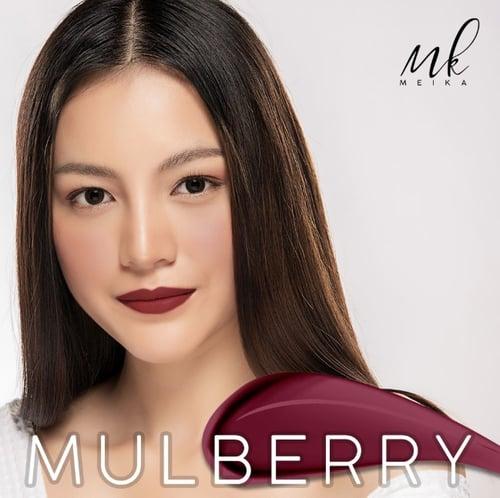 Meika - Variant Mulberry - Lipstick / Lipstik Matte Jepang / Japan
