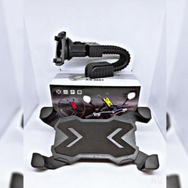 Holder Motor Spion Dudukan HP GPS Max 6 inch SH-3081 - Merah