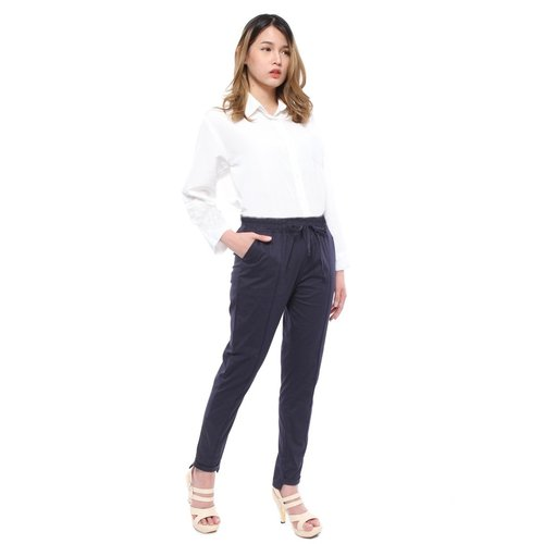 Rimas C.Alza Polos Pants Wanita - Navy Size L