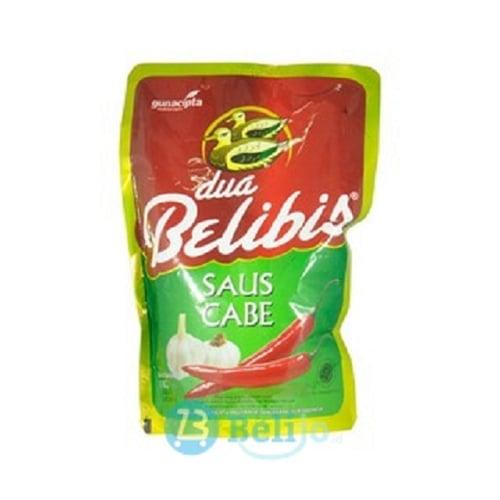DUA BELIBIS Saus Cabe kemasan Premium - 1 Kg