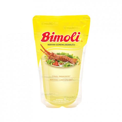 Bimoli Klasik Minyak Goreng Pouch 1 Liter Isi 12 pcs