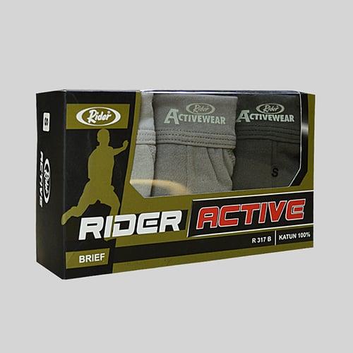 Celana Dalam Rider Active Wear Pria R317B Multiwarna Box 3 in 1