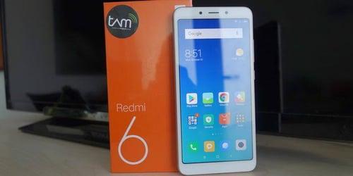 Xiaomi Redmi 6 new garansi resmi Tam Ram 4Gb internal 64gb gold