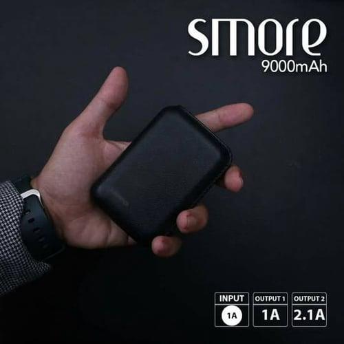 Hippo Power Bank SMORE 9000MAH Simple Pack - Black