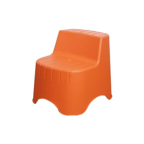 ATRIA Piony Bangku Stool - Orange