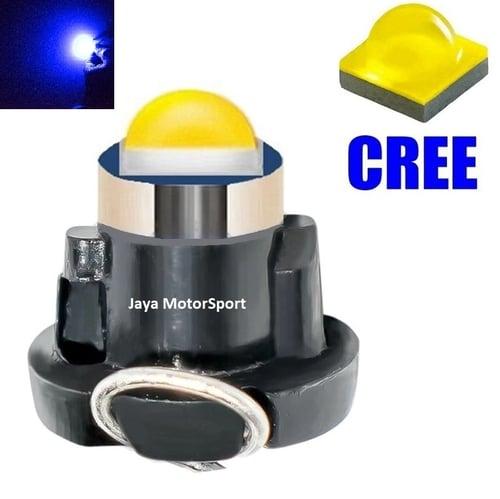 JMS - Lampu LED Mobil Motor Speedometer Dashboard Kabin Panel T3 Cree 1 SMD - Blue