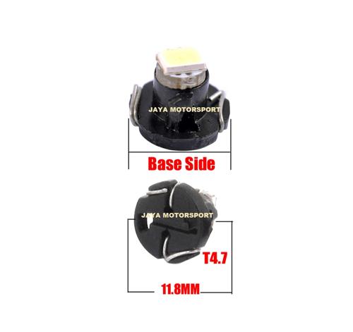 JMS - Lampu LED Mobil Motor Speedometer Dashboard T4 .7 1 SMD 1210 - Green