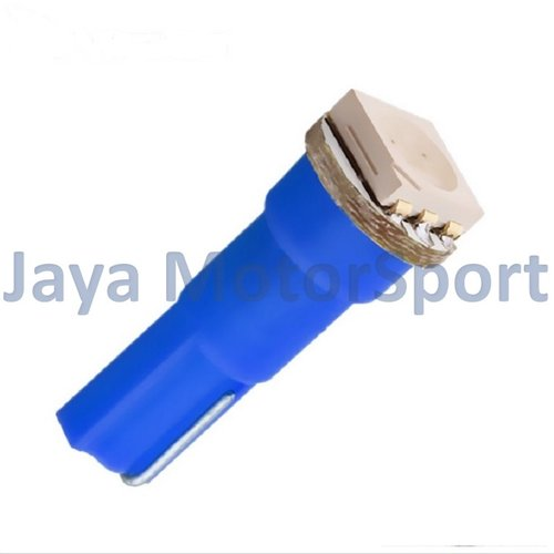 JMS - Lampu LED Mobil Motor Speedometer Dashboard Kabin Panel T5 1 SMD 5050 24V - Blue