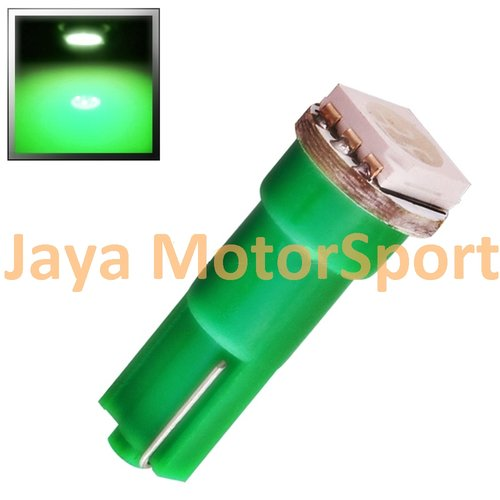 JMS - Lampu LED Mobil Motor Speedometer Dashboard Kabin Panel T5 1 SMD 5050 24V - Green