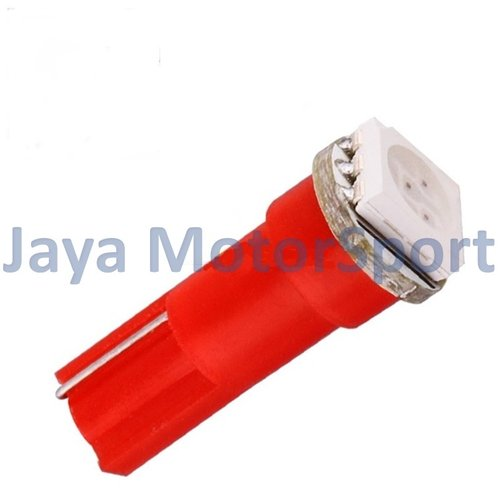 JMS - Lampu LED Mobil / Motor / Speedometer / Dashboard T5 1 SMD 5050 - Red