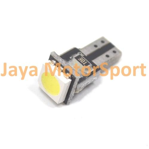 JMS - Lampu LED Mobil / Motor / Speedometer / Dashboard T5 PCB 1 SMD - White