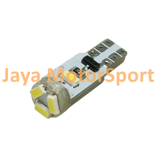 JMS - LLampu LED Mobil / Motor / Speedometer / Dashboard T5 PCB 5 SMD 3014 - Blue