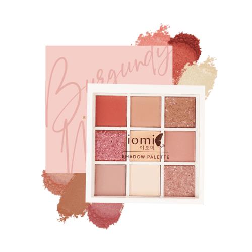 Iomi Eyeshadow Palette - Burgundy Mauve