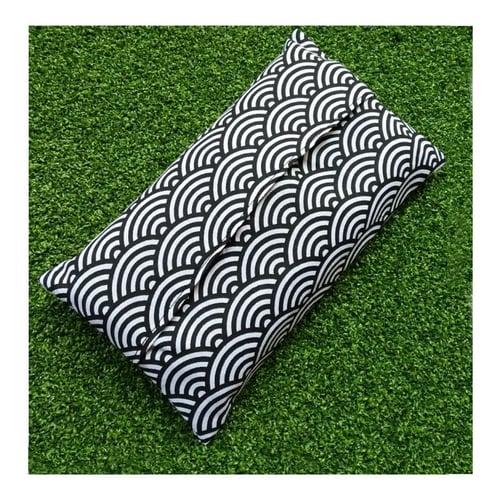 Tempat Tisu Tissu Tissue Pocket Holder Travel Pouch Cover Motif Handmade ISSMMC01