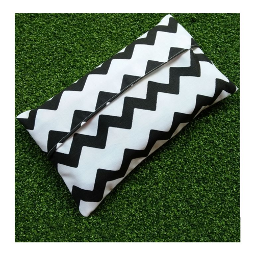 Tempat Tisu Tissu Tissue Pocket Holder Travel Pouch Cover Motif Handmade ISSMMC02
