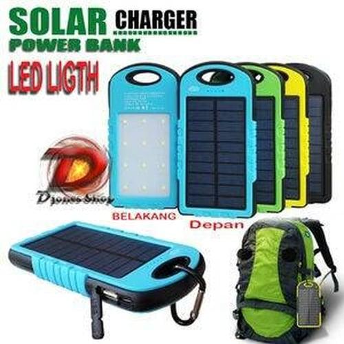Powerbank Solar cell light 12 led 99000mah 99000 mah