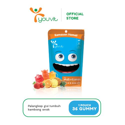 YOUVIT Multivitamin Gummy Anak 30 Days Isi 30pcs