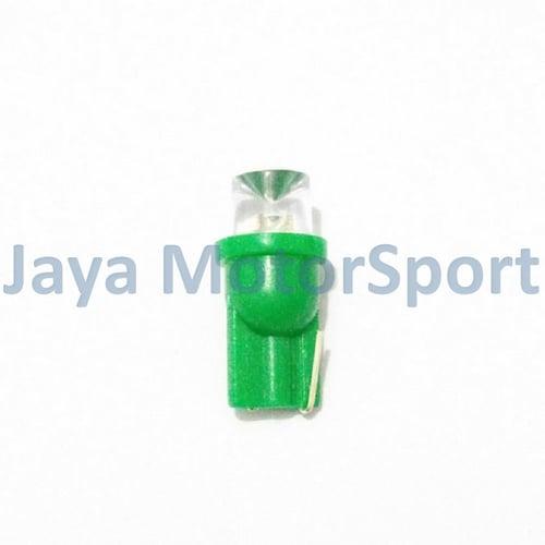 JMS - Lampu LED Mobil / Motor / Senja T10 / W5W Concave 1 SMD -  Green