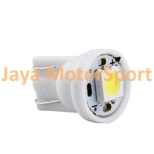 JMS - Lampu LED Mobil / Motor / Senja T10 W5W / Wedge Side 1 SMD 5050 - Warm White