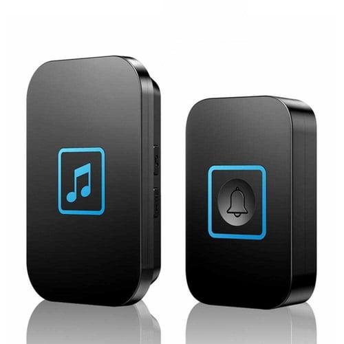 Bel Pintu Wireless Doorbell LED 60 Tunes 1 PCS Receiver