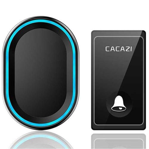 Bel Pintu Wireless Doorbell LED 58 Tunes 1 PCS Receiver