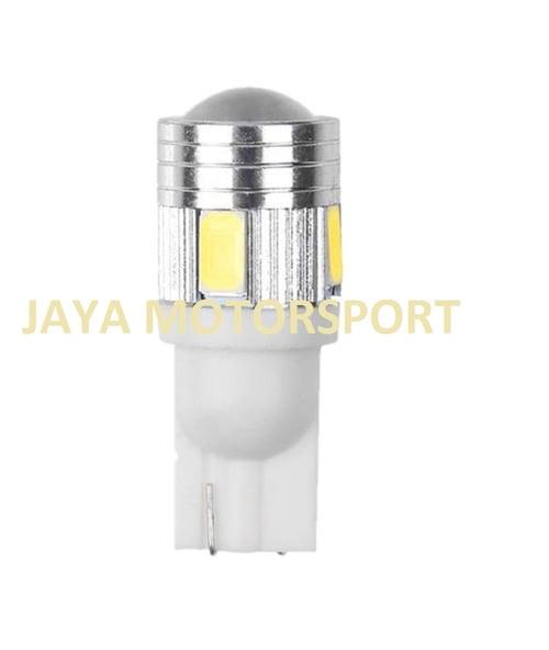 JMS - Lampu LED Mobil Motor Senja Sein T10 6 SMD 5630 - White