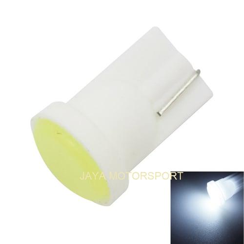 JMS - Lampu LED Senja / Wedge Side T10 W5W 6 Ceramic LED 1W - White